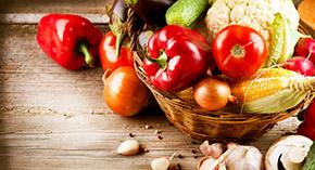 Kalafior, brokuł, papryka, pomidor, por, cebula, rabarbar, brukselka i inne...
