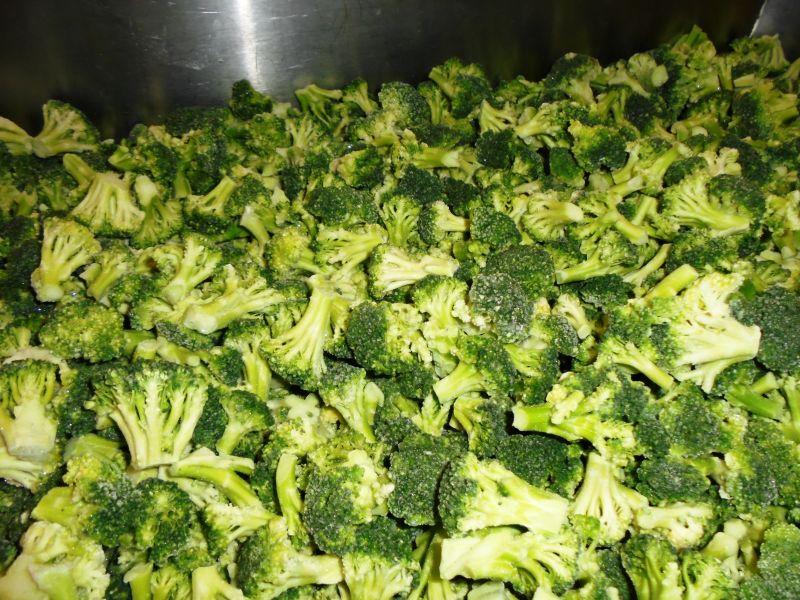 mrożony brokuł