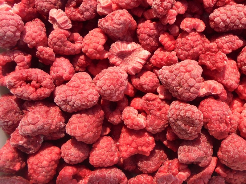 Raspberry Whole and Crushed