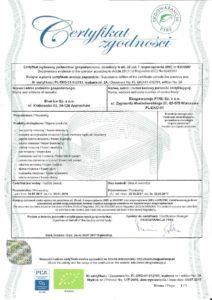 certyfikat eko 2017